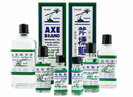 LKF Axe Medicated Oil